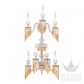 2809628 Baccarat Zenith Charleston Бра, настенный светильник на 7 ламп 112 x 32 x 52см