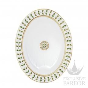 0657-105 Bernardaud Фарфор|Золото Блюдо овальное 43см