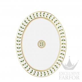 0657-107 Bernardaud Фарфор|Золото Блюдо овальное 38см