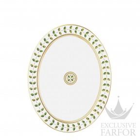 0657-109 Bernardaud Фарфор|Золото Блюдо овальное 33см