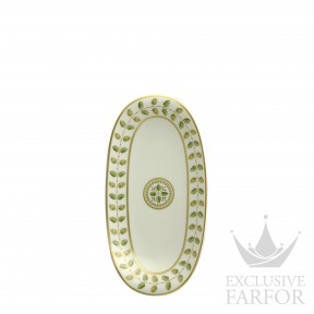 0657-125 Bernardaud Фарфор|Золото Блюдо для гарнира 23x12см