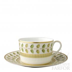 0657-83 Bernardaud Фарфор|Золото Чашка для завтрака с блюдцем 250мл