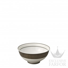 1359-1316 Bernardaud Фарфор Платин Чаша суповая 11см