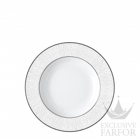 1359-23 Bernardaud Фарфор Платин Тарелка суповая 22,5см