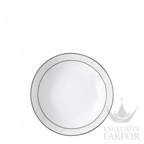 1359-26 Bernardaud Фарфор Платин Тарелка суповая 19см