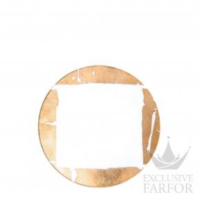 0446-2551 Bernardaud Фарфор|Золото Тарелка закусочная 21см