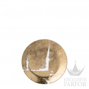 0446-2554 Bernardaud Фарфор|Золото Тарелка десертная 14см