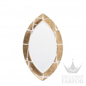 0446-3632 Bernardaud Фарфор|Золото Блюдо овальное 35,5см