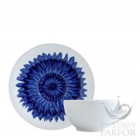 1768-21512 Bernardaud Фарфор|Кобальт Чашка для завтрака с блюдцем
