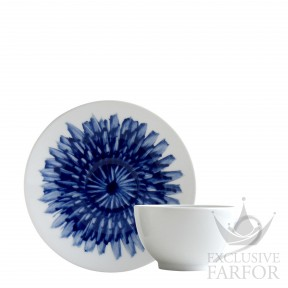 1768-3095 Bernardaud Фарфор|Кобальт Чашка чайная с блюдцем 130мл