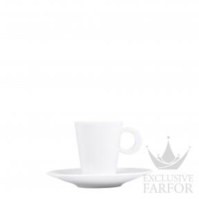 5602-79 Bernardaud Фарфор Чашка эспрессо с блюдцем 60мл