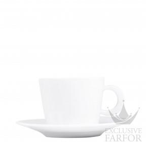 5602-89 Bernardaud Фарфор Чашка чайная с блюдцем 170мл