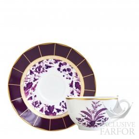 1831-3095 Bernardaud Фарфор|Золото Чашка чайная с блюдцем 130мл