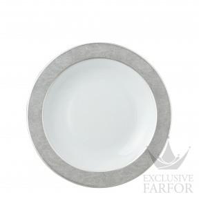 0459-115 Bernardaud Фарфор Платин Тарелка глубокая 29см