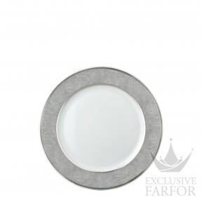 0459-17 Bernardaud Фарфор Платин Тарелка закусочная 21см