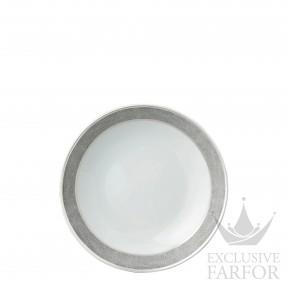 0459-26 Bernardaud Фарфор Платин Тарелка суповая 19см