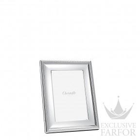 """04256002 Christofle Perles """"Посеребрение"""" Рамка для фотографий 10 x 15см"""