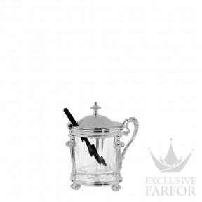 "03571027 Christofle Marly - Limited Edition 500 ex. ""Серебро"" Горчичница 11 x 7см"