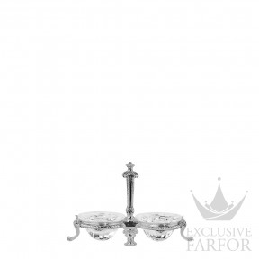 "03571029 Christofle Marly - Limited Edition 500 ex. ""Серебро"" Солонка и перечница 9 x 5см"