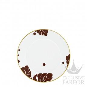 """FL20142470024 Fürstenberg Auréole Colorée """"marone"""" Тарелка закусочная 24см"""