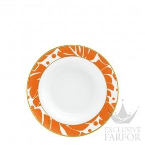 "TF20142370021 Fürstenberg Auréole Colorée ""marone"" Тарелка суповая 23см"