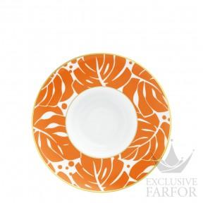 "TF20142670021 Fürstenberg Auréole Colorée ""orange"" Тарелка для спагетти 26см"