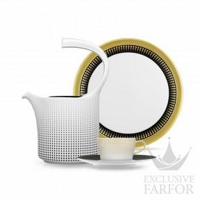 GE2014187000-2 Fürstenberg Auréole Clair de Lune Чайный сервиз на 6 персон, 21 предмет