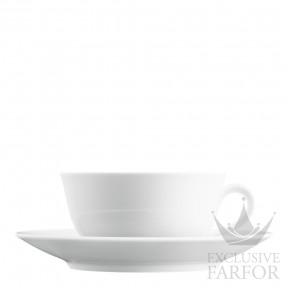 TA639150000 Fürstenberg Wagenfeld Чашка чайная с блюдцем 0,20л