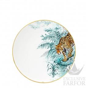 "038001P Hermes Carnets d'Еquateur Тарелка главная ""Jaguar"" 27см"