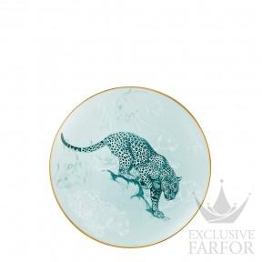 "038007P Hermes Carnets d'Еquateur Тарелка закусочная ""Panther"" 21см"