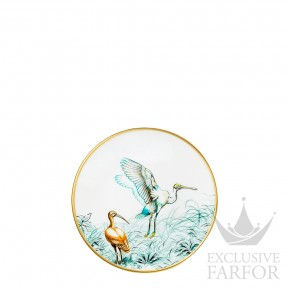 "038012P Hermes Carnets d'Еquateur Тарелка десертная ""Birds"" 14см"