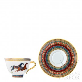 009816P Hermes Cheval d'Orient Чашка чайная с блюдцем № 1 230мл