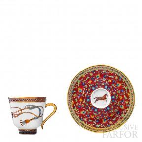 009817P Hermes Cheval d'Orient Чашка кофейная с блюдцем 110мл