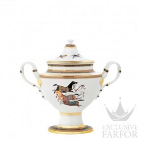 009830P Hermes Cheval d'Orient Чаша с крышкой для компота 2200мл