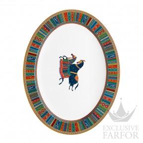 009850P Hermes Cheval d'Orient Блюдо овальное 48см