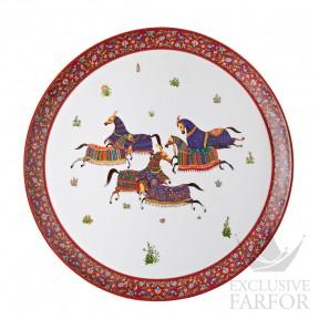 009851P Hermes Cheval d'Orient Блюдо круглое № 1 44см