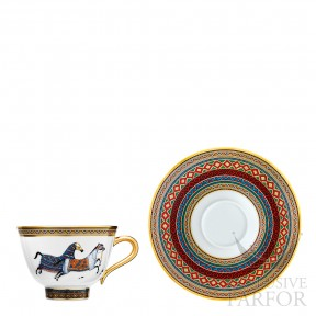 009882P Hermes Cheval d'Orient Чашка чайная с блюдцем № 2 230мл