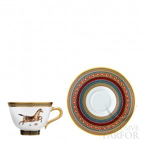 009883P Hermes Cheval d'Orient Чашка чайная с блюдцем № 3 230мл