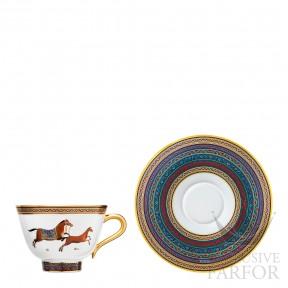 009886P Hermes Cheval d'Orient Чашка чайная с блюдцем № 6 230мл