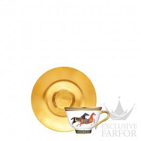 009916P Hermes Cheval d'Orient Чашка чайная с блюдцем 230мл