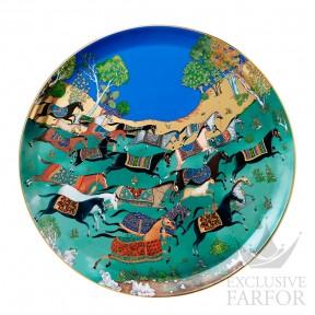 009951P Hermes Cheval d'Orient Блюдо круглое № 2 44см