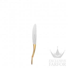 """008903P Hermes Grand Attelage """"сплошная позолота"""" Столовый нож 22,5см"""