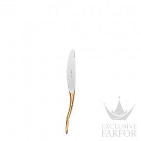 """008909P Hermes Grand Attelage """"сплошная позолота"""" Десертный нож 19см"""