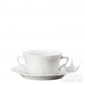 02033-800001-10420 Hutschenreuther Baronesse Чаша суповая с блюдцем 0,34л