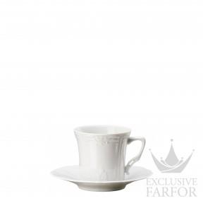 02033-800001-14720 Hutschenreuther Baronesse Чашка эспрессо с блюдцем 0,10л