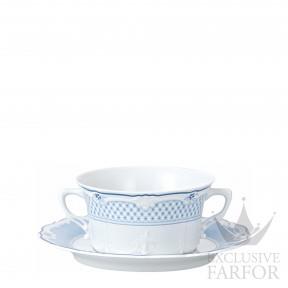 02033-721224-10420 Hutschenreuther Baronesse Estelle Чаша суповая с блюдцем 0,34л