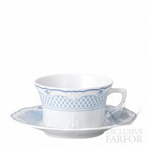02033-721224-14640 Hutschenreuther Baronesse Estelle Чашка чайная с блюдцем 0,22л