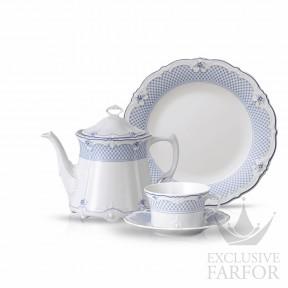 02033-721224-2 Hutschenreuther Baronesse Estelle Чайный сервиз на 6 персон, 21 предмет