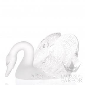 1161500 Lalique Swan Head Down 4950