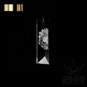 "10433300+gold Lalique Serene ""Dahlia"" 3400"